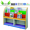 Nursery school child study bookshelf kid's bookcase for kindergarten used SF-101C
