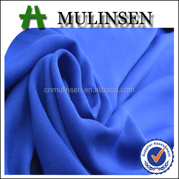 Mulinsen Textile Light Weight Double Chiffon Dobby Georgette 100D Chiffon Georgette Fabric
