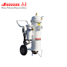 Lubricant transformer oil filter machine separation system