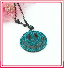 2012 smiling face necklace