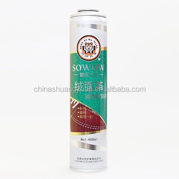 China leading brand Shuangyuan Aerosol Spray Paint can in 52 and 65diameter