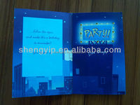 Wholesale customized recordable 3D greeting card with music chip