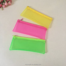 custom eco-friendly candy colour EVA Plastic pencil pouch