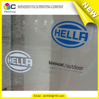 Latest new model custom printed vinyl sticker material