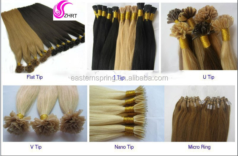 Factory Direct Price Cheap Human New Year Hot I-Tip Prebonded Hair Extension