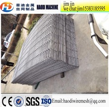 Galvanzied welded wire mesh fence / vinyl coated 3D curve wire mesh panel