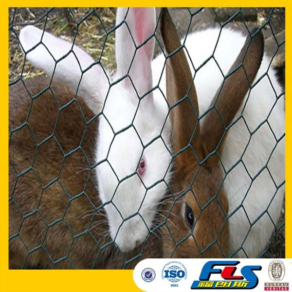 Hexagonal Wire Mesh Rabbit Cage Chicken Fence