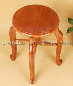 Factory Direct Retro Solid Wood Furniture Stool