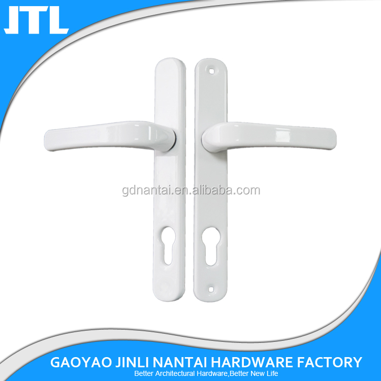 pvc aluminum sliding door handle and lock