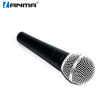 Professional dynamic microphone for karaoke microphone cable