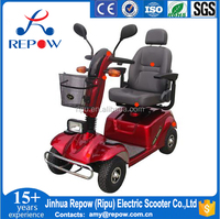 adult electric mobility scooter for elderly handicapped and disabled people D411 800W 4 wheels electric mobility scooter
