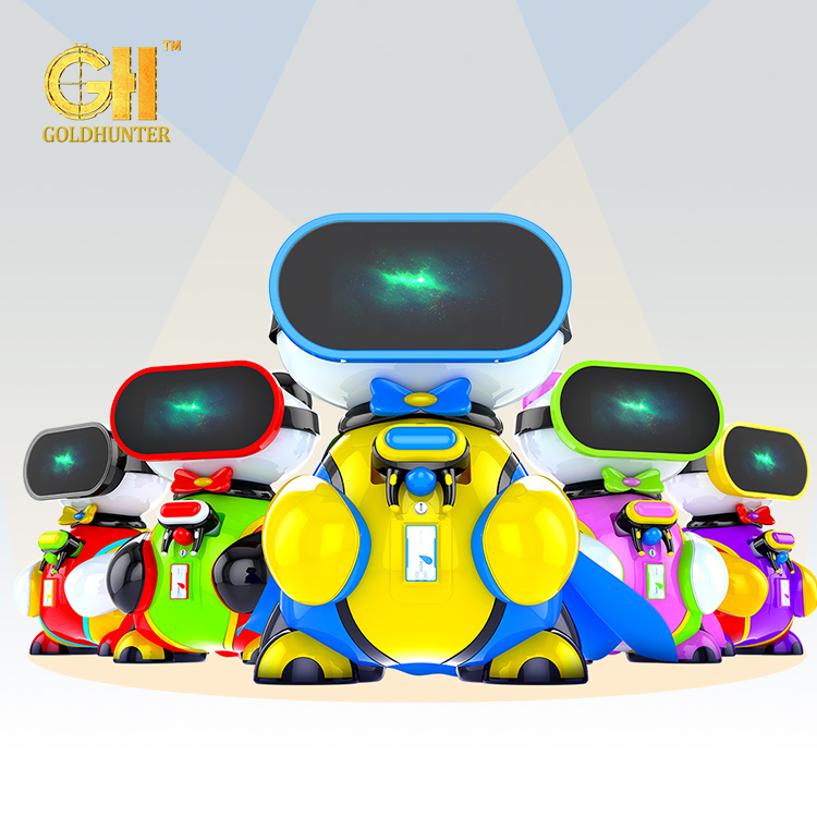 New Design Simulated Game Machine 9DVR Shape Cinema Redemption Children Gaming 9D Simulator on Salechildren