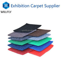Fashion top sell rubber backing commercial carpet tiles