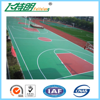 PU Basketball Court Rubber Flooring