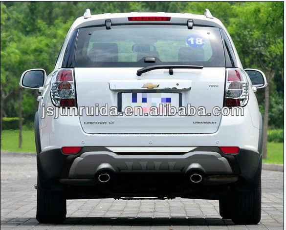rear skid car plate cover,bumper guard(chevorate captive 2012)