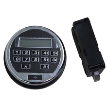 High Security keyless swingbolt digital electronic safe lock DT-0917