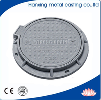 EN124 B-125 Ductile cast iron inspection chamber cover