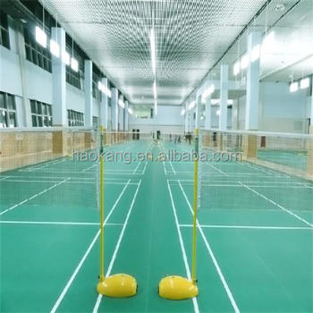 PVC Sports Flooring , Tennis Court / Badminton Court Mat for Indoor Sports