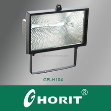 CE IP54 220V Waterproof Outdoor FloodLight Halogen Fitting 1000W