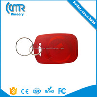 New Product Custom Logo RFID Key Fob Chain Tags Free Sample for Access Control Management