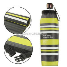 Foldable Waterproof Umbrella Case / Storage Bag, Length: 35cm (Colored Stripes Pattern)