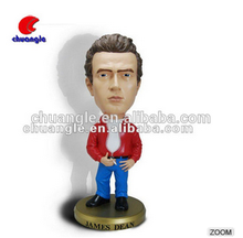 Hot Selling simulation human bobble head Figures OEM factory