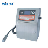Ink Jet Date Code Machine For Small Industrial