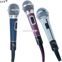 Hot sale handheld style microphone metal wired microphone karaok microphone