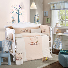 Baby Bedding Set Embroidery Quilt Set Crib Bedding Set
