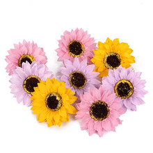 Artificial flower wholesale PVC packaging artificial daisy flowers soap flowers