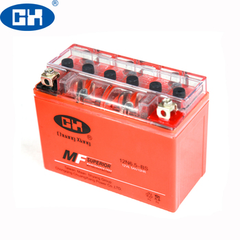 Nano 12V 6.5Ah Motorcycle Gel Battery For 12N6.5L-BS