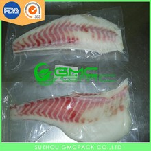 hot selling Food frozen fish packaging bag
