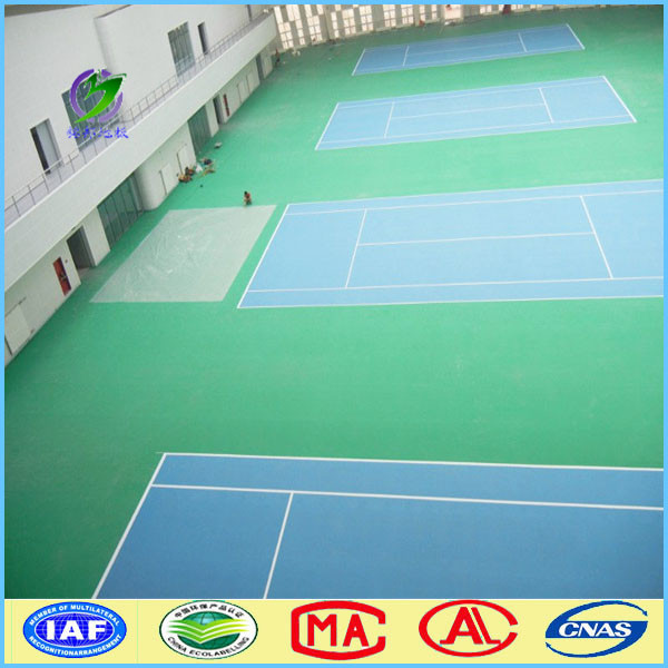 indoor mobile pvc vinyl flooring badminton court sizes