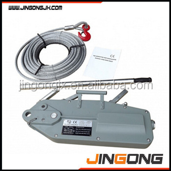 Manual Wire Rope Lever block with 20 meters