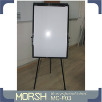 classic tripod flip chart easel with whiteboard on sales