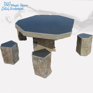 stone dining tables with 4 chairs for sale