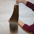 100% remy hair extensions double side seamless tape hair extensions