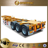 Competitive price CIMC 40ft container delivery truck trailer for sale