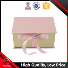 Elegant style recyclable paper musical wedding invitation boxes