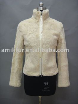 Fashion Ladies Rabbit Fur Jacket Fall/Winter 2011/2012 ( Style: # B140 )