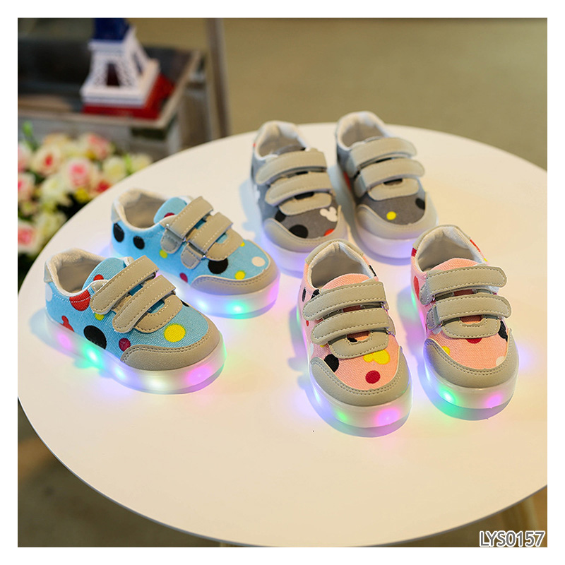 top quality Manufacture flashing kids Shoes Low Price led shoes kids