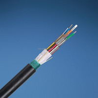 12 core single mode micro air blown fiber optical cable