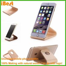 iBest holder for mobile phone, wood mobile phone stand holder novelty cell phone holder