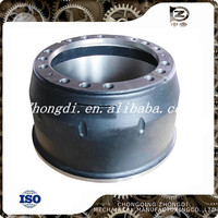 Automobile Axle Parts steel material Rear Brake Drum for dongfeng brake hub