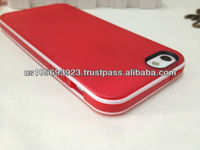 PC bumper with TPU back cover combo case for iphone 5
