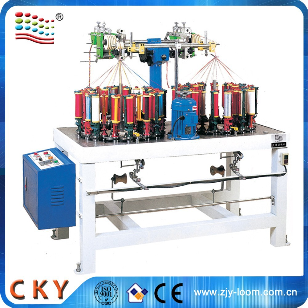 High Quality Factory Price Flat Cord Braiding Machine
