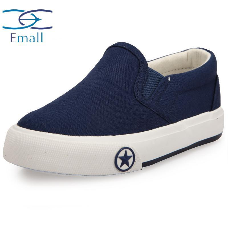 Zhaoguan Kids Canvas Shoes Children Fashion Spring Sneakers