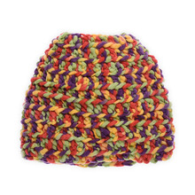 2018 New Design Newborn Colorful Baby Cap and Knit Hat