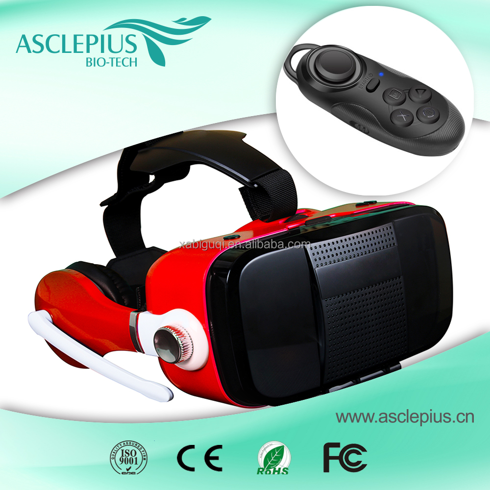 2016 hot sale high <strong>quality</strong> factory price 3d vr glasses for Iphone