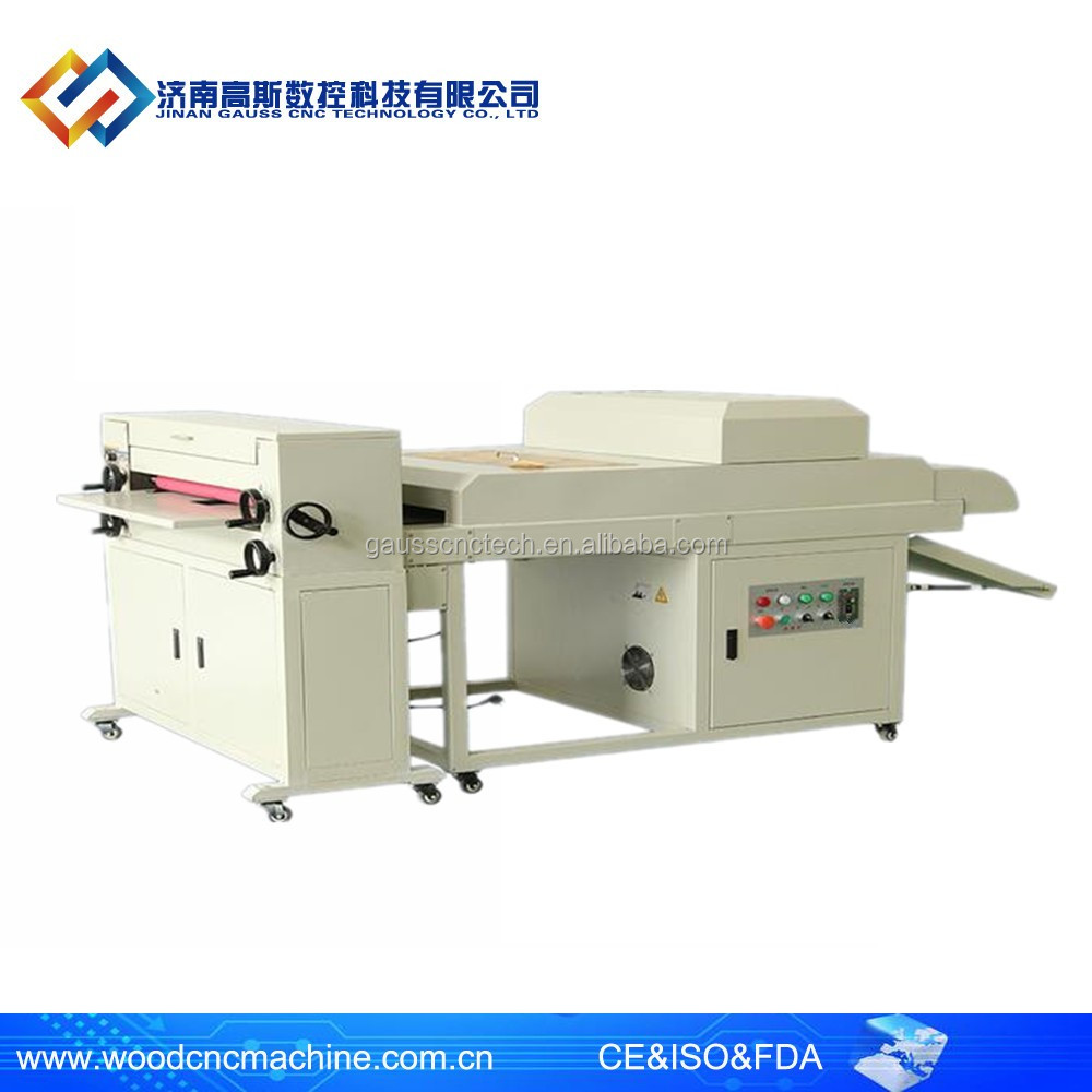 Digital embossing roller digital uv coating machine paper uv spray coating machine for album photo